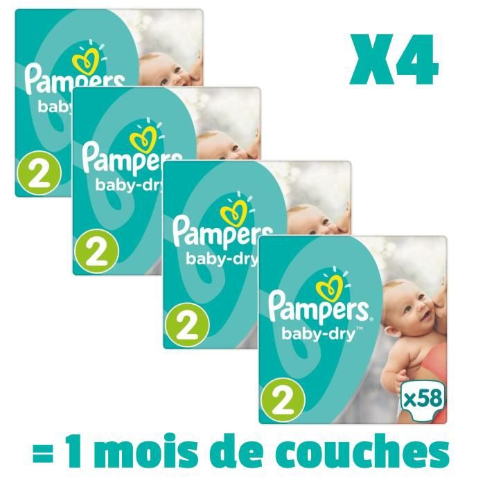 Couche Bebe Taille 2 Achat Vente Pas Cher