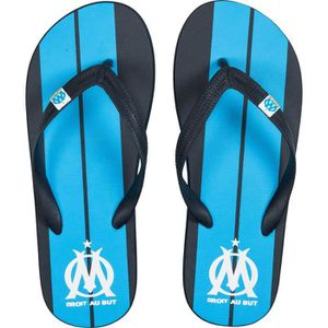 TONG WEEPLAY Tongs Olympique de Marseille - Enfant - Bl