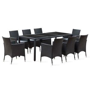 Salon de jardin table haute - Achat / Vente pas cher