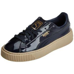 size 40 bcf99 13c65 Puma Les chaussures de baskets de brevet de plate-forme de panier de  marshmallow pour