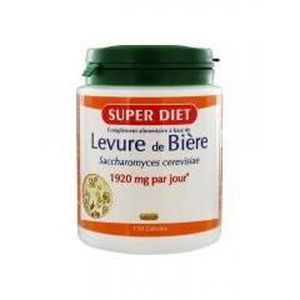 SOIN BEAUTÉ CHEVEUX Super Diet Levure de Bière 150 Gélules