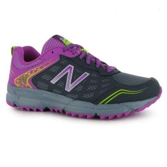 NEW BALANCE Chaussures de trail WT 590 V1 - Femme - Violet - Prix pas cher