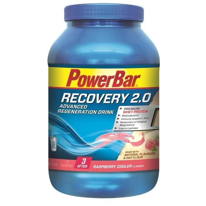 POWERBAR Boisson récupération Recovery 2.0 - Framboise - 1144 g