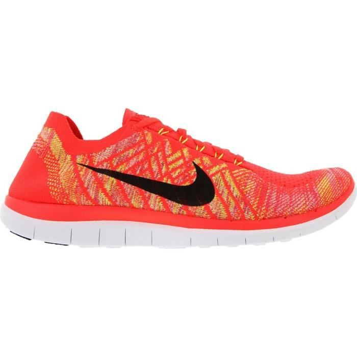 half off e7227 fd64b NIKE Chaussures Running Free 4.0 Flyknit Homme