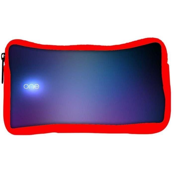 Petit sac-trousse de maquillage Rouge écologique Snoogg motif :  un concepteur  original c23
