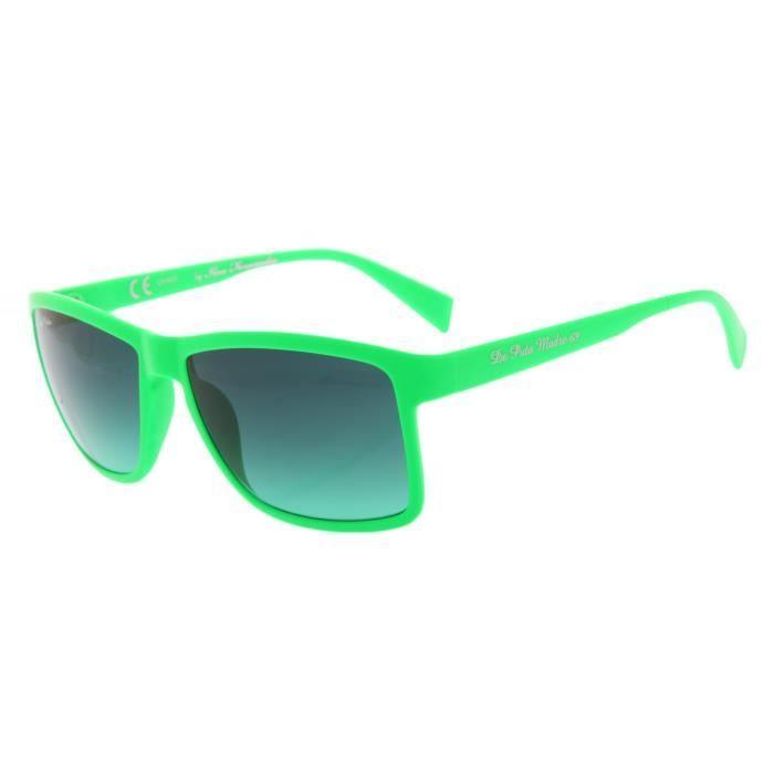 6718bac35992b6 De Puta Madre 69 Adultes Unisexe Lunettes de soleil neon vert  DZ2039S-1033-GN