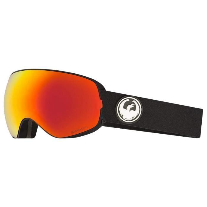 Masque de ski Dragon X2S Noir 2 Ecrans - Prix pas cher - Cdiscount 8f1f2113e172