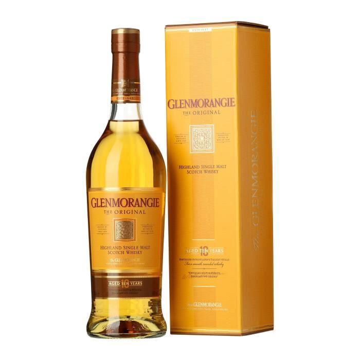 WHISKY BOURBON SCOTCH Glenmorangie The Original 10 ans - Highlands Singl