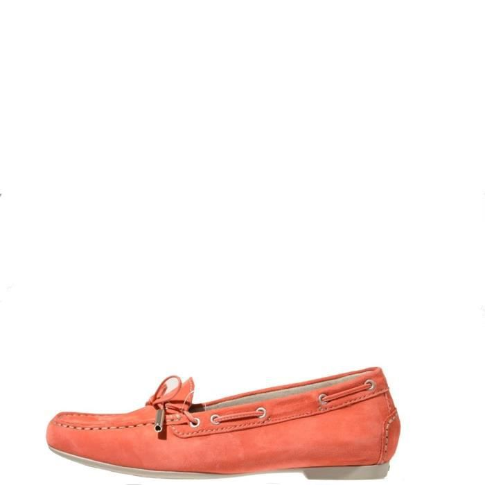 Stonefly Mocassin Femme Yellow Red