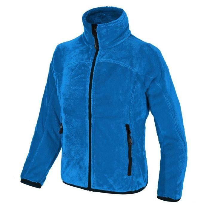 low priced db53e 06101 VESTE Vestes polaires Cmp Highloof Jacket Girls