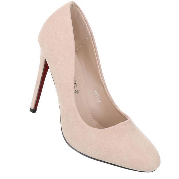 Femme escarpin chaussures Élégant High Heels avec des lacets noir 37 gr0H6A7MmQ