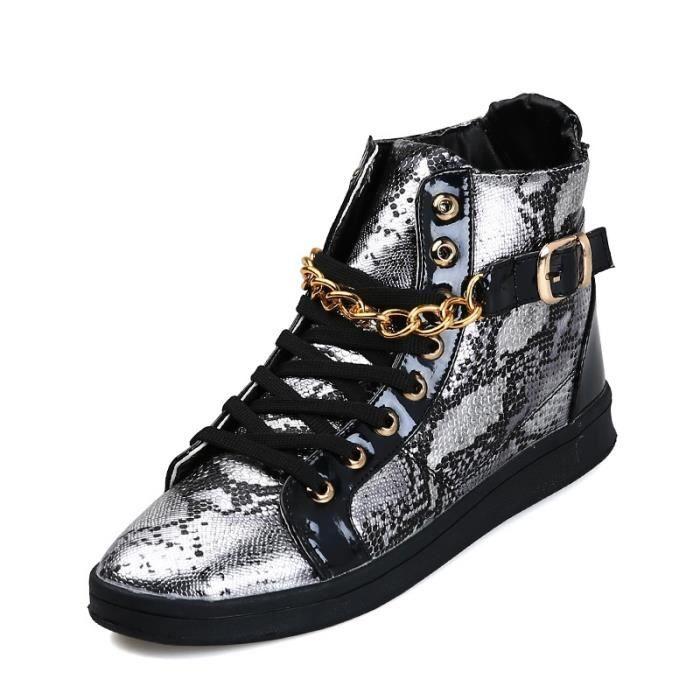 Basket Homme Ultra Léger Chaussures De Sport Populaire BCHT-XZ109Bleu39 Tgd83dpa