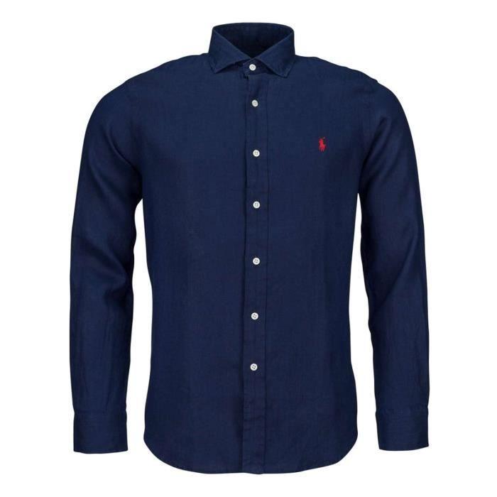 Polo Ralph Lauren Chemises Homme Bleu, XL Bleu Bleu - Achat   Vente ... d45c5793007