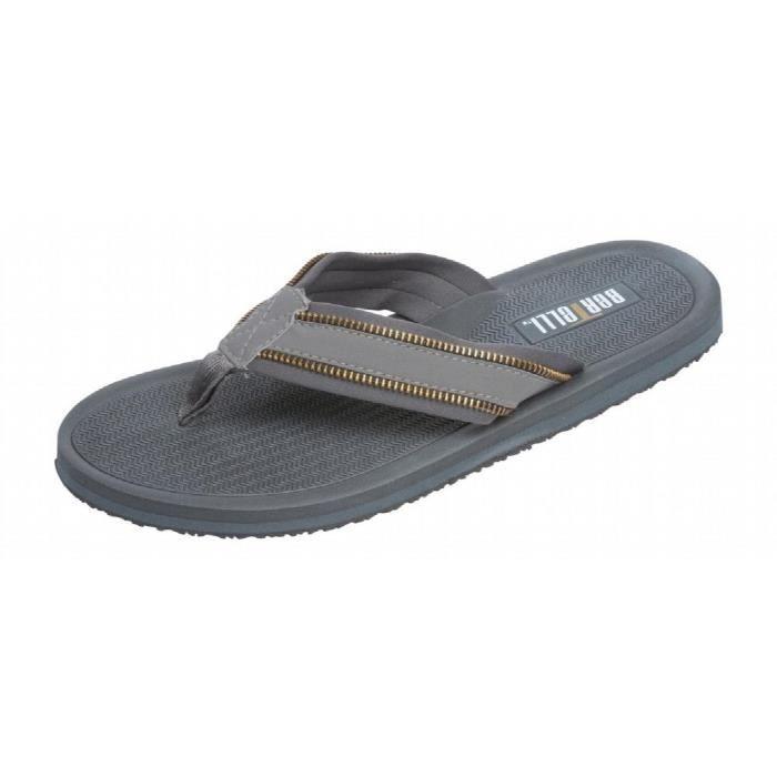 Bertelli Mens Zipper style plage Thong Flip Flop YIIOV Taille-46 iM2SAMl