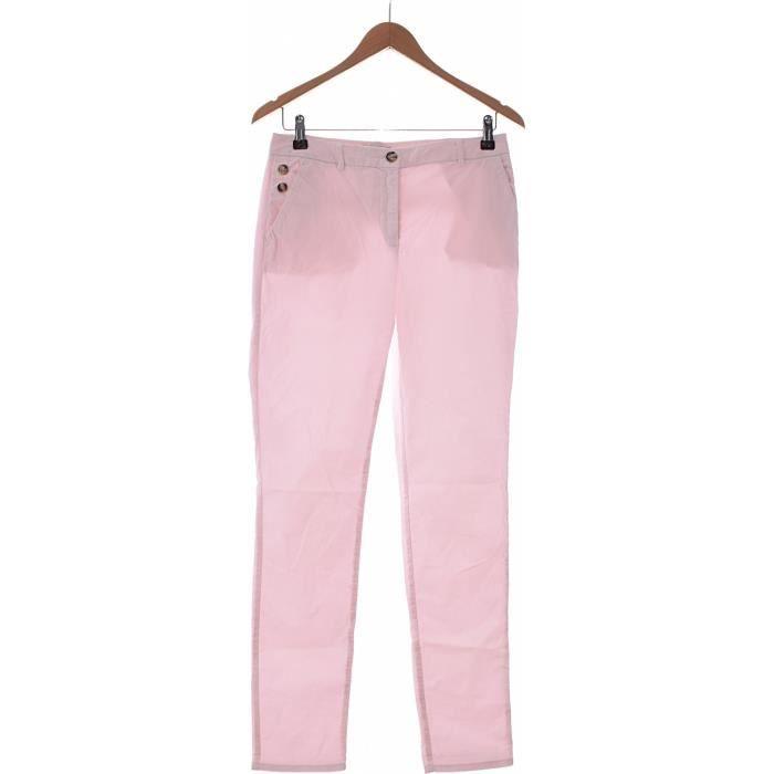 e82fb0994479 Pantalon CAROLL occasion très bon état Rose Rose - Achat   Vente ...