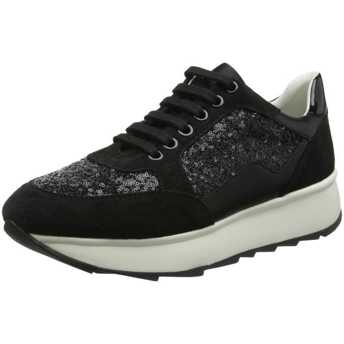 GEOX D Gendry B Sneakers top des femmes CH6HS Taille 37