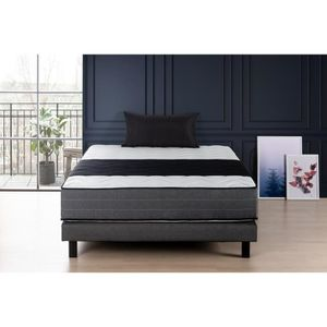 ensemble matelas sommier achat vente ensemble matelas sommier pas cher cdiscount. Black Bedroom Furniture Sets. Home Design Ideas