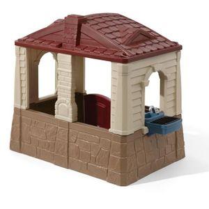 maison enfant exterieur plastique achat vente jeux et jouets pas chers. Black Bedroom Furniture Sets. Home Design Ideas