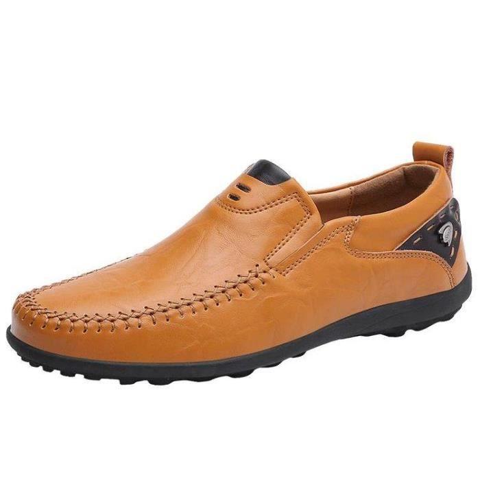 Chaussures Bateau Homme Classique D'Affaires Plus Fortes Mode En Toute LéGèReté Jaune 38 X33203_JEDOFOFM_8117 Af7eDU