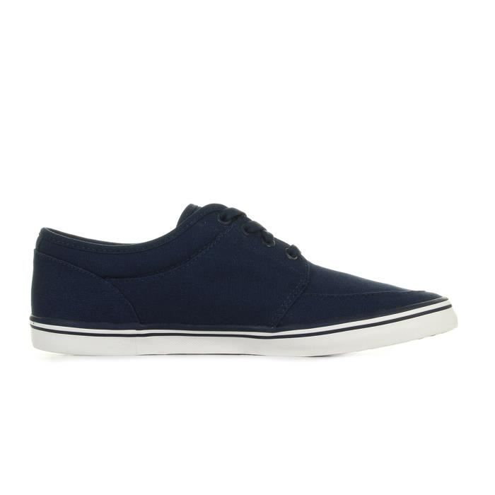 Baskets Fred Perry Stratford Canvas Carbon Blue