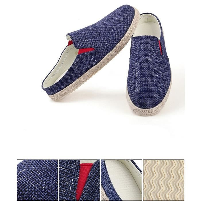 Mode Hommes Mocassins Homme Chaussures Casual oisif Chaussures confortables Flats