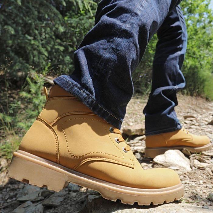 Chaussures de randonnée fourrées OSE - Camel