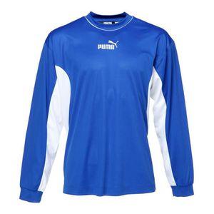 PUMA T-shirt Tiago Manches longues - Homme - Bleu et blanc