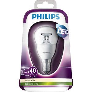 PHILIPS Ampoule LED E14 5,5W équivalence 40W