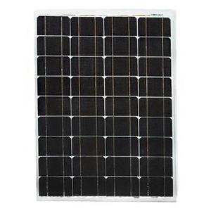KIT PHOTOVOLTAIQUE Panneau solaire 12V 50W monocristallin Luxor