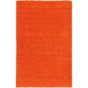 fd37d7d7b11 Tapis Shaggy orange - Achat   Vente Tapis Shaggy orange pas cher ...
