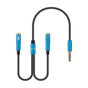 CÂBLE TV - VIDÉO - SON Version Blue - Chine - < =0.5m - 3.5mm Écouteur