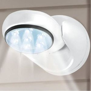 DÉTECTEUR DE MOUVEMENT LED Lampe Lumière Détecteur Mouvement 360 °Sans Fi