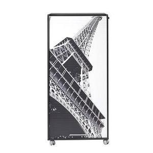 ARMOIRE RÉSEAU Armoire informatique 2 tiroirs 65,2 cm - Noir Tour