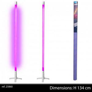 tube n on sur socle violet 134 cm achat vente tube n on sur socle violet cdiscount. Black Bedroom Furniture Sets. Home Design Ideas
