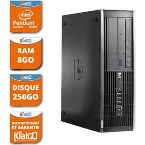 UNITÉ CENTRALE  ordinateur de bureau HP elite 6000 dual core 8 go
