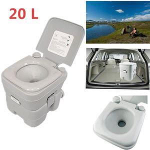WC - TOILETTES 20L Toilette chimique portatif Qube