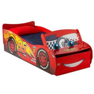 STRUCTURE DE LIT Lit pour enfants Disney Cars avec rangement et par