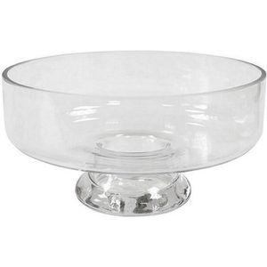 VASE - SOLIFLORE Vase coupe sur pied transparent 10.5cm (x1) REF/VE