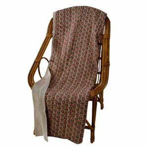grand plaid gris achat vente pas cher. Black Bedroom Furniture Sets. Home Design Ideas