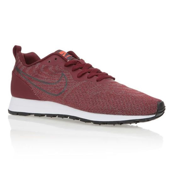 NIKE Baskets MD Runner 2 BR Chaussures Homme  Rouge - Achat / Vente basket