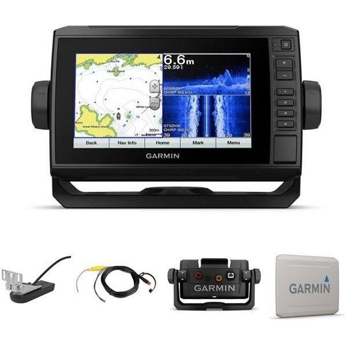 GARMIN Combiné GPS Sondeur Echomap Plus 72SV + Sonde GT552HW-TM