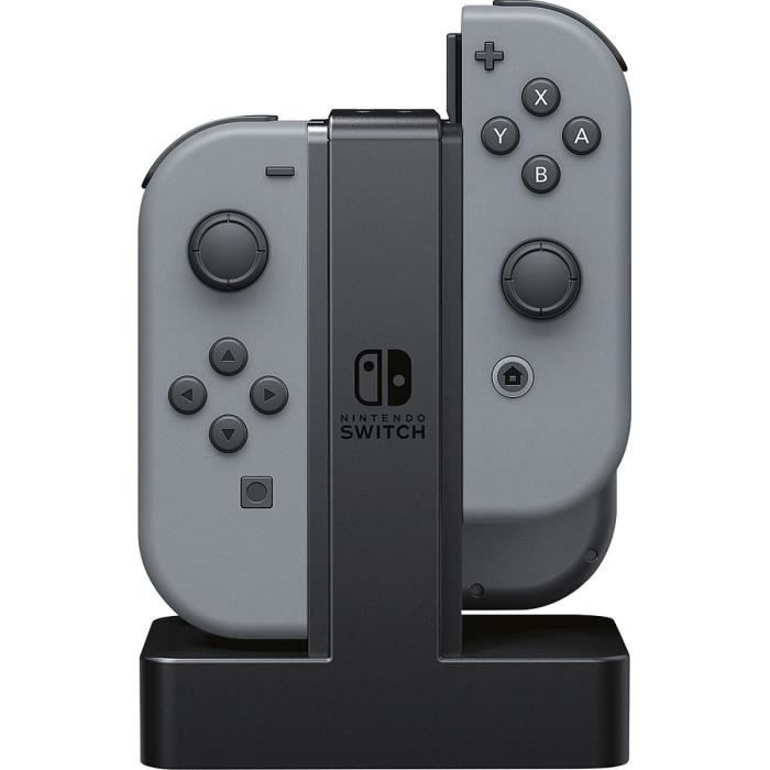 POWER A Station de charge - 4 x Joy-Con - Nintendo Switch
