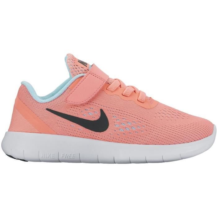 brand new 2288a ad51a BASKET NIKE Baskets Free Run Chaussures Enfant Fille