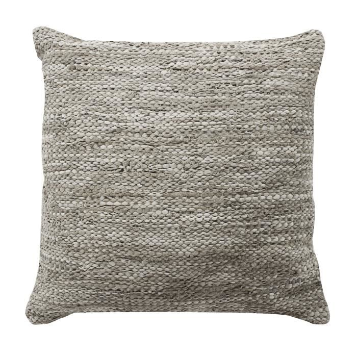 Coussin Skin - 45 x 45 cm - Beige taupe