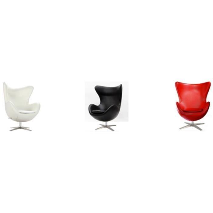 fauteuil egg achat vente pas cher. Black Bedroom Furniture Sets. Home Design Ideas