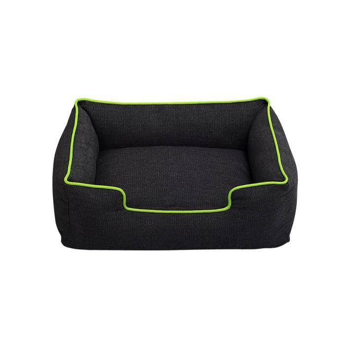 Mosakog® Chiot Chien Chat Denim Épais Robuste Mat Confortable Chaud Lit Douillet Cotten Maison Nest_poi2562
