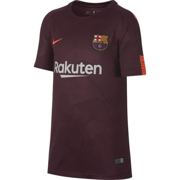 bffd5749adc66 MAILLOT JUNIOR NEWS FC BARCELONE THIRD BORDEAUX 2018
