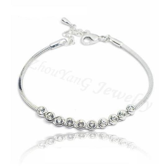 Bracelet Femme Cristal Element Swarovski Neuf