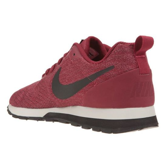 NIKE Baskets MD Runner Homme 2 Eng Mesh Chaussures Homme Runner  Bordeaux - Achat / Vente basket 5ba1bf