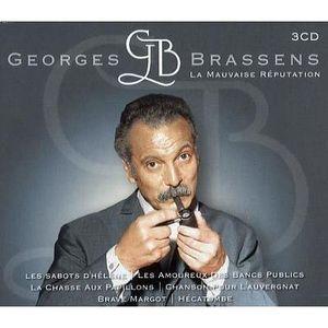 CD VARIÉTÉ FRANÇAISE Georges Brassens